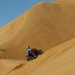 Yamaha Raptor climbing Salamat dune