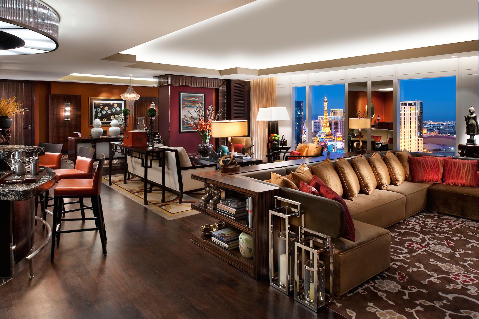 Mandarin Oriental Las Vegas suite