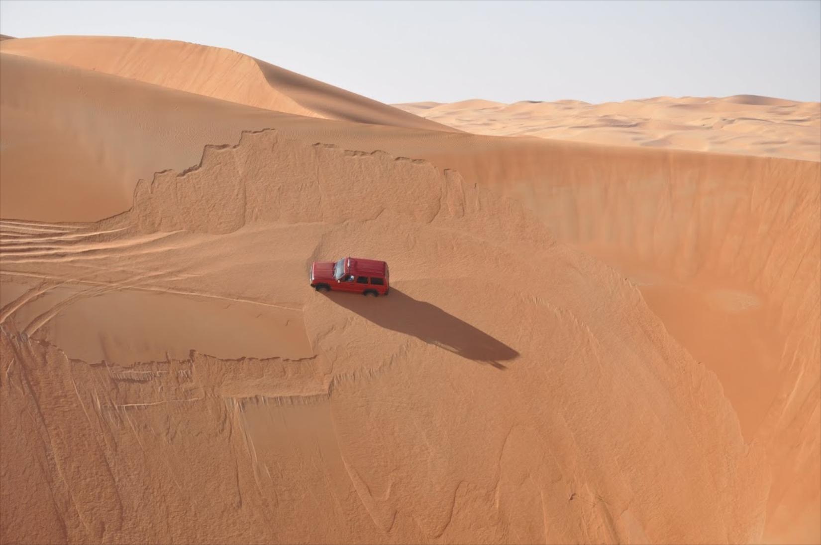 Dune driving