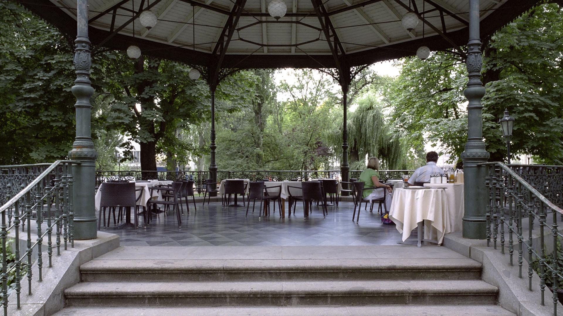 Zofin Garden Prague