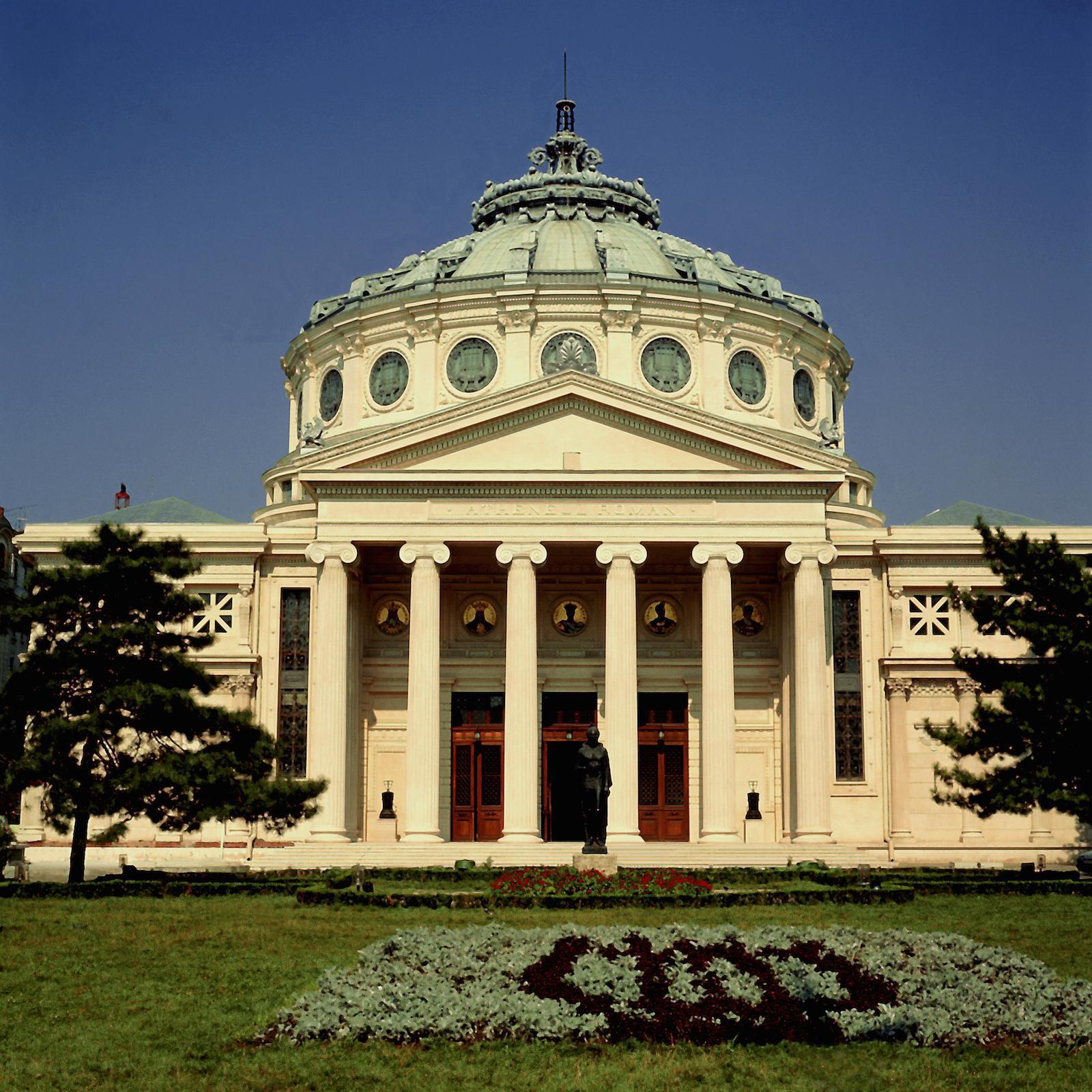 BUCHAREST _ ROMANIAN ATHENAEUM