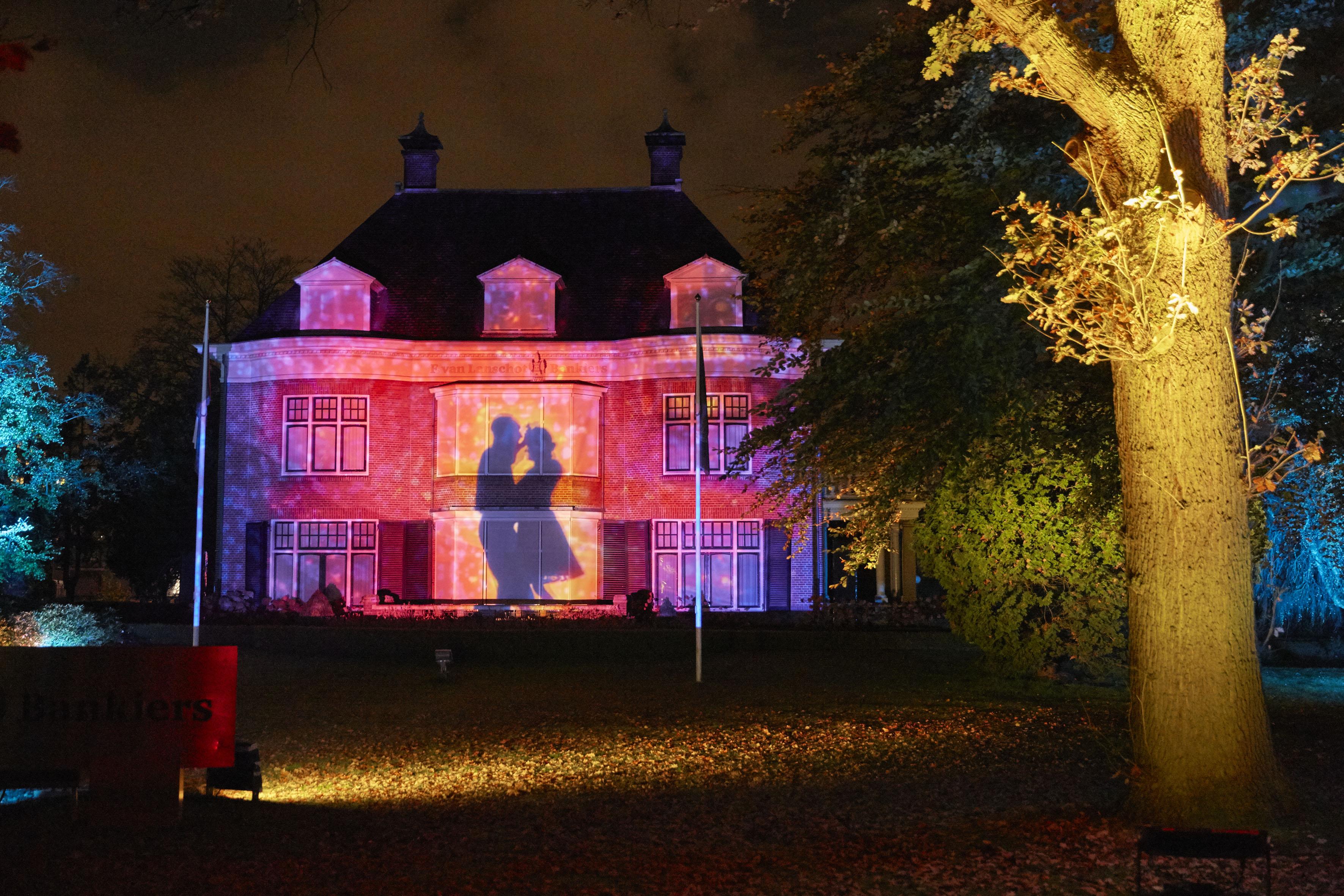GLOW 2014 Villas Parklaan Les Orpailleurs de Lumière; Parklaan Flashback. © Claus Langer