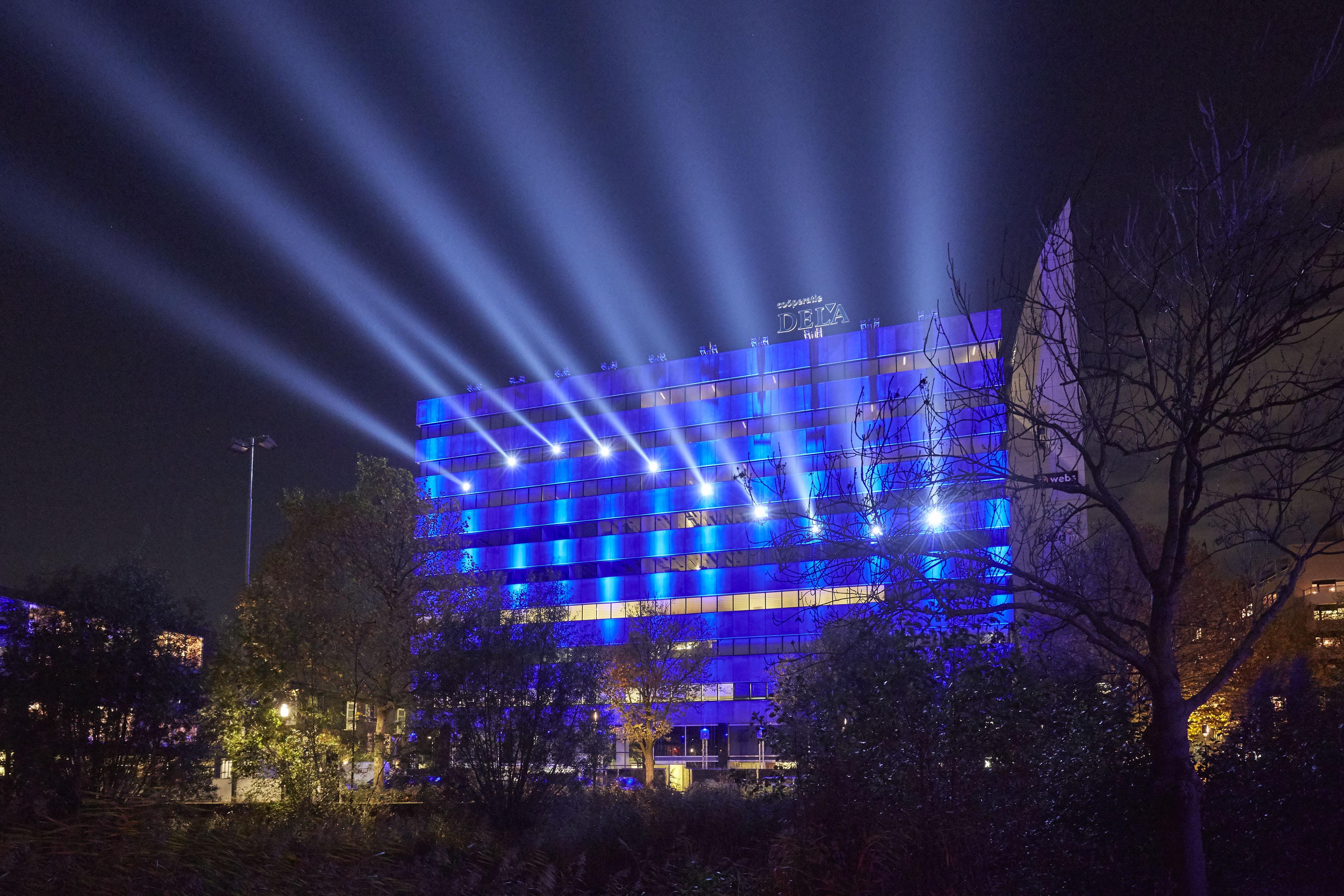 GLOW 2014 DELA-building Michael Suk; Statemachine © Claus Langer